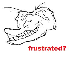 Frustrated Meme - frustrated trollface coolface problem know your meme