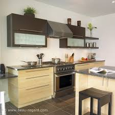 cuisine bambou armoires de cuisine contemporain bambou et merisier 2 idée de