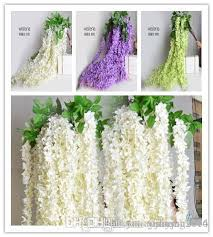 silk flowers bulk best white green purple color bulk silk flowers bush wisteria