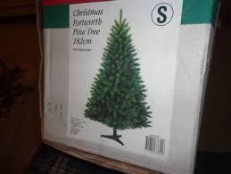1 82m mixed pine white tree teal tinsel tree 1 2m