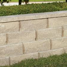 garden wall blocks tan retaining block hardscapes the home
