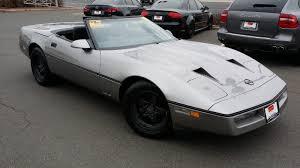 87 corvette for sale corvettes on ebay ultra low mile 1987 callaway b2k convertible