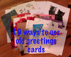 what to do with old greeting cards flash greeting cards