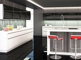 Modern Kitchen Furniture Design Glass Cabinet Kitchen Modern Design Normabudden Com
