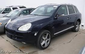 Porsche Cayenne Suv - 2004 porsche cayenne s suv item db3982 sold july 11 sei