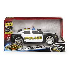fast lane light u0026 sound police car toys