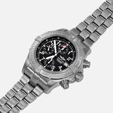 breitling titanium bracelet images Breitling chrono avenger titanium black dial e13360 neofashion jpg