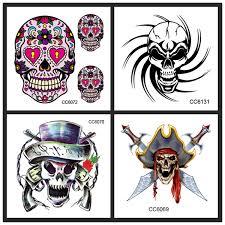 horror flower skull sword 2016 fashion small skeleton