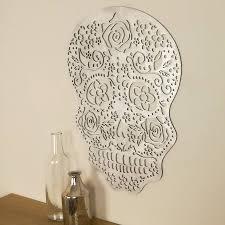 wall design skull wall art photo wall ideas sugar skull metal