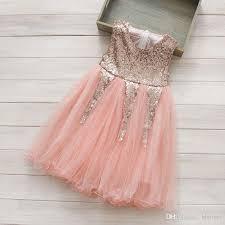 2018 baby flower dresses kids princess dress infant