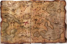 Old World Map Wallpaper by Old World Pirate Map Map Chinoiserie Wallpaper Clip Art Library