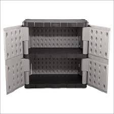 Rubbermaid Storage Cabinet With Doors Furniture Garden Sheds Rubbermaid Door Cabinet 7083