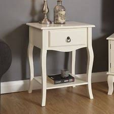 Shabby Chic Side Table Shabby Chic Bedside Tables U0026 Cabinets Ebay