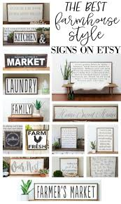 the best farmhouse style signs on etsy farmhouse style etsy and