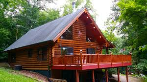 Cabins For Rent Paint Creek Lodge 5 Bedroom Log Cabin With Tub Jacuzzi Iowa