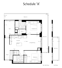 The Parc Condo Floor Plan by The Yonge Parc 2 Condos By Pemberton Group Big City Realty