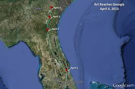 Sebring Florida Map by Project Ospreytrack Art Map Squam Lakes Natural Science Center