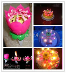 spinning birthday candle fast shipping spinning musical birthday candle flower party