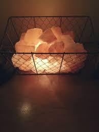 himalayan light salt crystal l lighting salt l with an orange radiance energetic lights