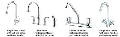 types of kitchen faucets awe inspiring types of kitchen faucets marvelous kitchen faucets