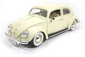 volkswagen maisto bburago volkswagen kafer beetle 1955 1 18 diecast scale model car