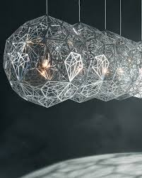 etch web stainless steel pendant light by tom dixon interior deluxe