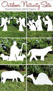 Christmas Yard Decoration Templates by 15 Best Nativity Homemade Images On Pinterest Outdoor Nativity