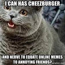 Meme Cheezburger - i can haz cookies cheezburger cat meme generator