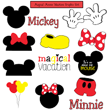 mickey mouse photo booth booth props clipart clip library