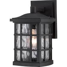 Black Exterior Light Fixtures Led Exterior Wall Lights Outdoor Hanging Modern Outside Black