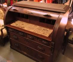 Victorian Secretary Desk by Antique Cylinder Roll Top Secretary Desk Hostgarcia
