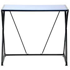 bureau verre but bureau plaque de verre atome bureau plateau verre bleu bureau avec