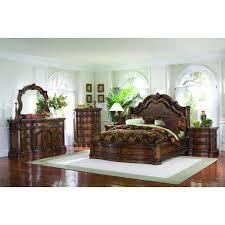 san mateo 5 piece bedroom set 662100 5pcset pulaski furniture afw