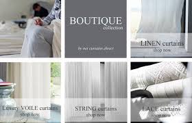 Boutique Curtains The Boutique Collection From Net Curtains Direct Luxury Sheers
