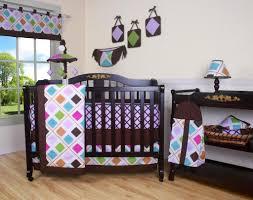 Pink Brown Crib Bedding Geenny Pink Brown 13pcs Crib Bedding Set