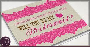 will you be my bridesmaid invite rustic will you be my bridesmaid cards