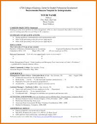 business resume for college students 10 resume objective for college student exles budget reporting