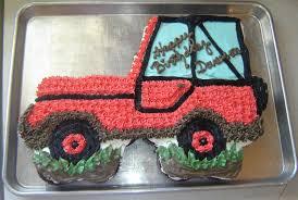 happy birthday jeep cake delectable cakes jeep cupcake cake