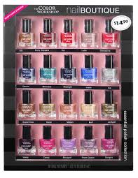 markwins international the color workshop nail boutique holiday