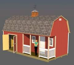 Small Barn Plans 12x24 Barn Plans Barn Shed Plans Small Barn Plans