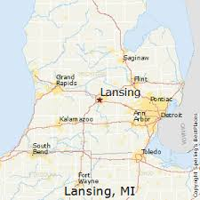 area code map of michigan best places to live in lansing michigan