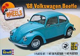 volkswagen santa revell 1968 vw beetle model cars magazine
