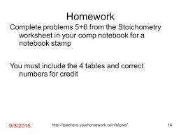 Stoichiometry Problems Worksheet Today U0027s Agenda F 1 7 11 Recall U2013 Predicting And Classifying