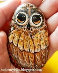 260 best taş boyama owls images on pinterest painted stones