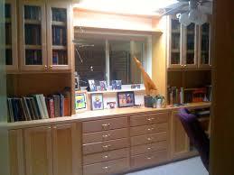 Shaker Bookcase Home Offices U2014 Wood Gem Custom Cabinets