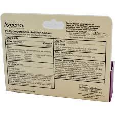 aveeno active naturals 1 hydrocortisone anti itch cream 1 oz