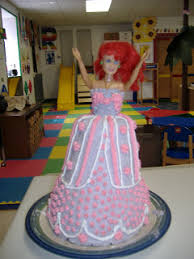 make a barbie cake part i making the cake without a mold frugal