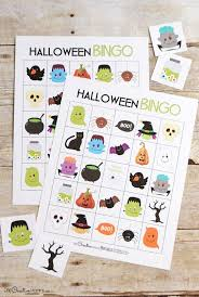 The Bingo Barn Printable Halloween Bingo Cards Halloween Bingo Room Mom And