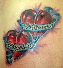100 heart name tattoos heart tattoos with kids names google
