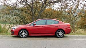2017 subaru impreza hatchback red 2017 subaru impreza first drive review